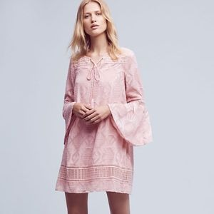 Anthropologie Floreat Esme Bell Sleeve Dress